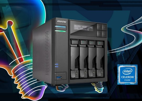Test : NAS Asustor AS6404T – Un NAS prenant en charge des flux 4K Ultra HD à 60 FPS