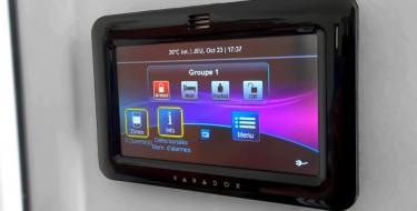 Test : Alarme Paradox Digiplex Evo 192 associée à l'écran tactile TM50