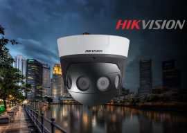 News : Hikvision PanoVu  Présentation de la caméra DS-2CD6984G0-IH Ultra HD 32 millions de pixels